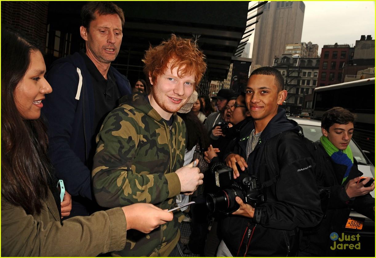 ed sheeran today show stop 13