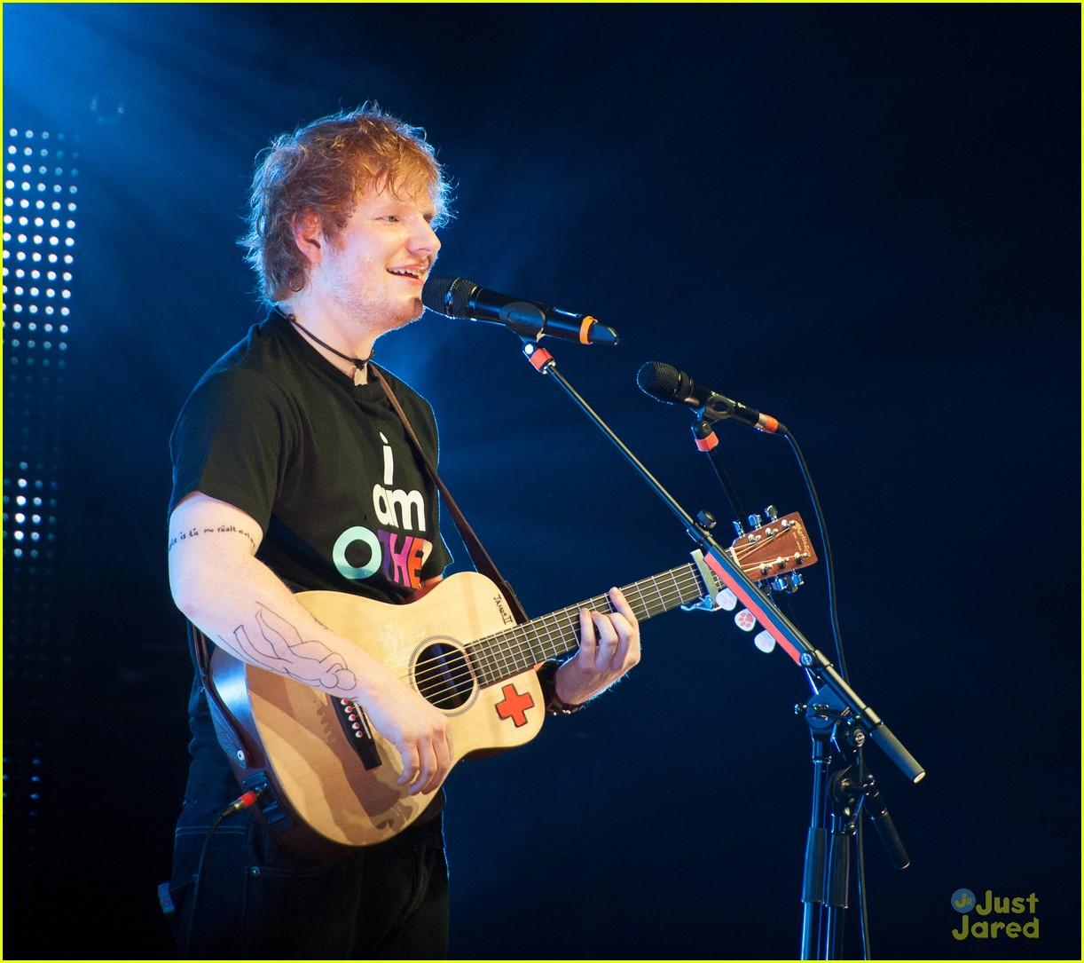 ed sheeran today show stop 14
