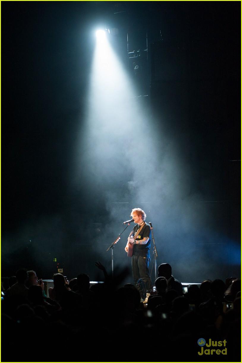 ed sheeran today show stop 16