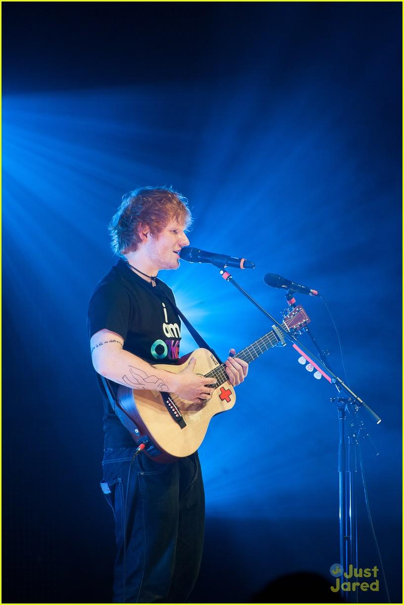 ed sheeran today show stop 18