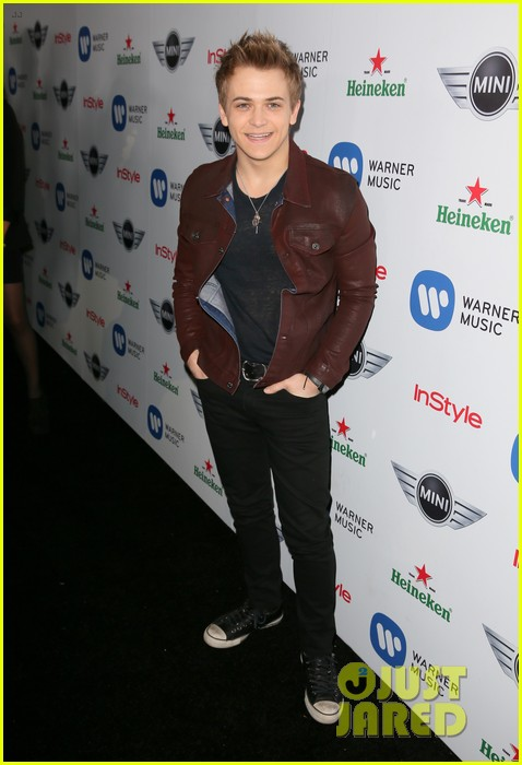 hunter hayes warner music group post grammy party 01