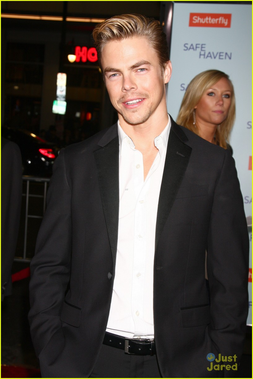 derek hough safe haven premiere 09