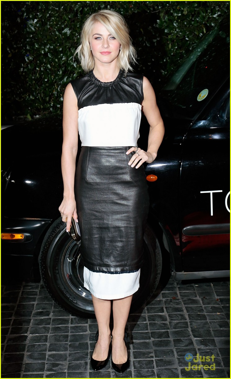 julianne derek hough topshop topman la opening party 10