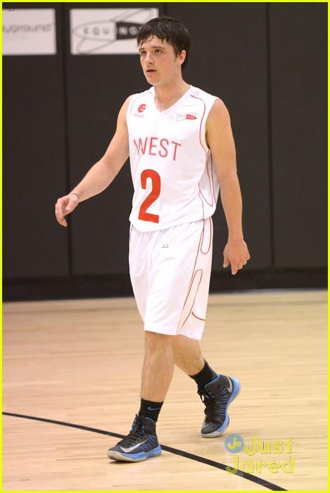 josh hutcherson ciroc celebrity basketball player 01