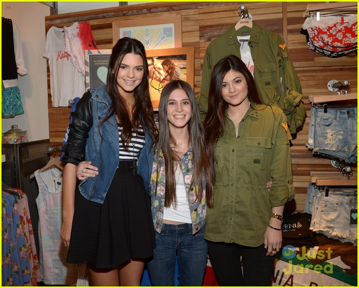 kendall kylie jenner pacsun line debut 13