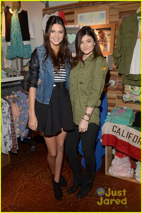 kendall kylie jenner pacsun line debut 25