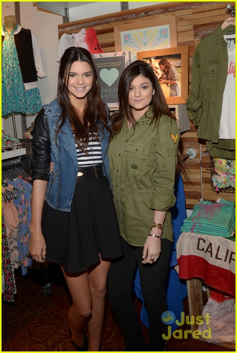 kendall kylie jenner pacsun line debut 27
