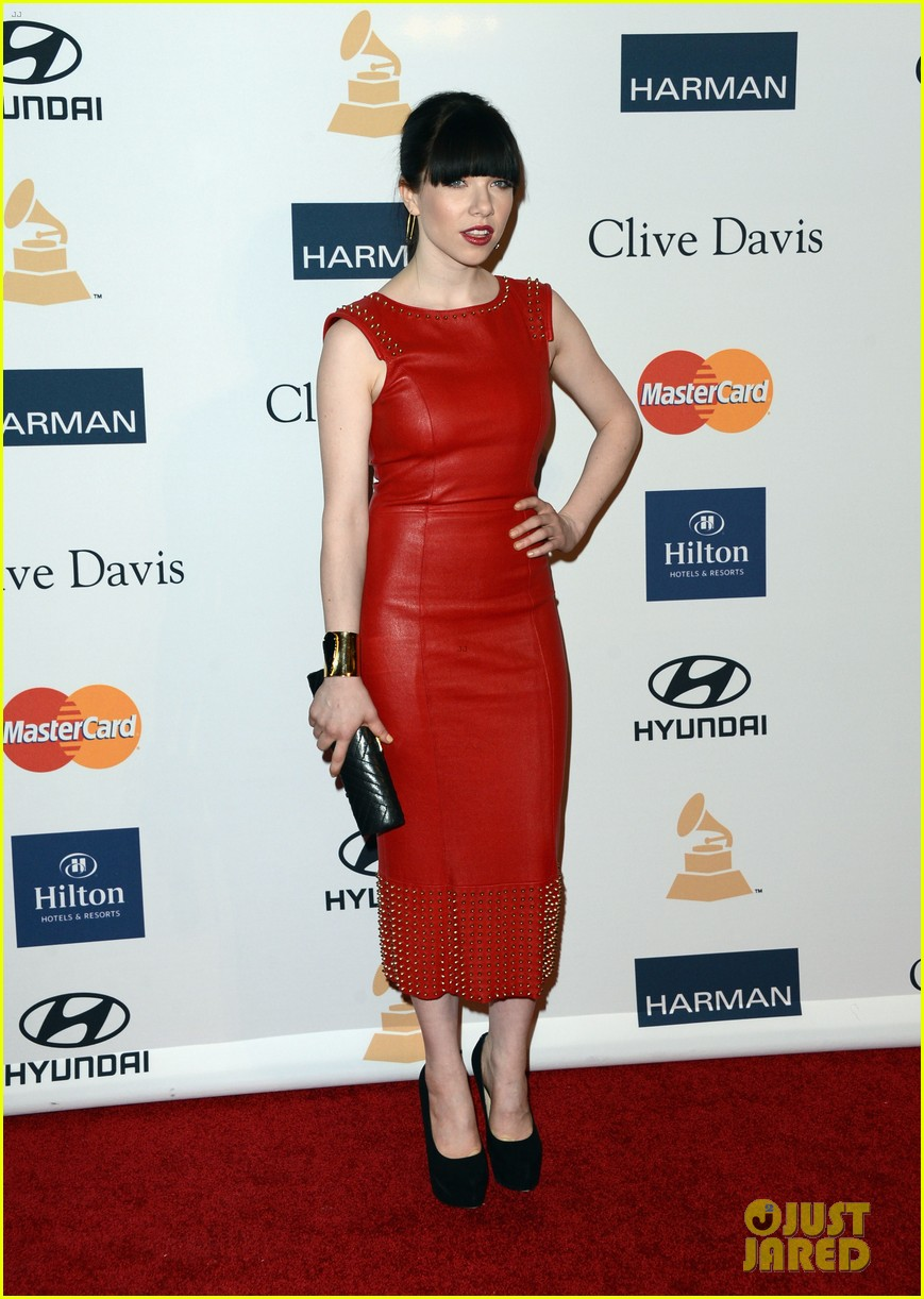 carly rae jepsen clive davis grammy party 03
