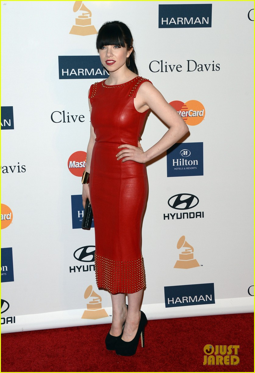 carly rae jepsen clive davis grammy party 06
