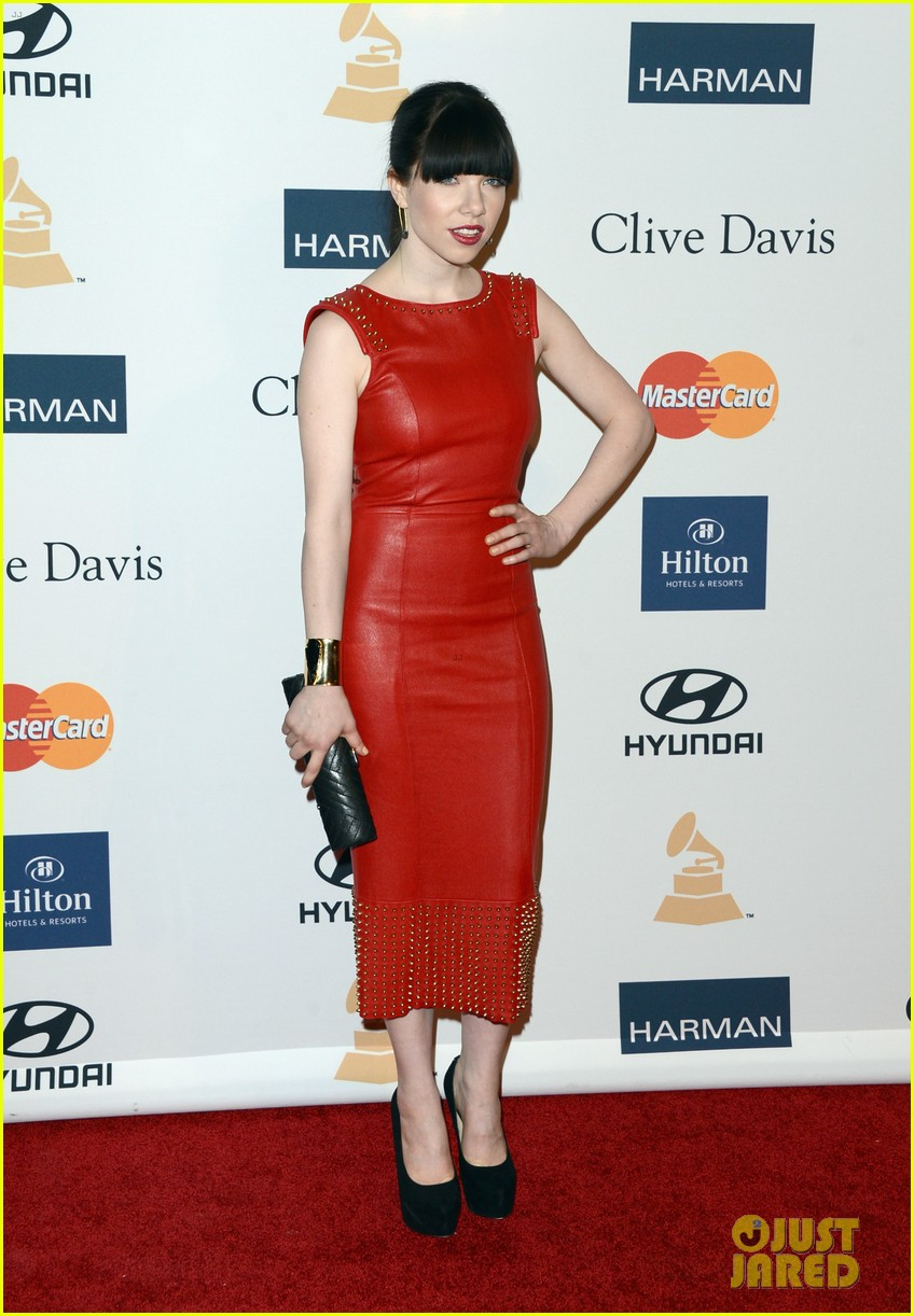carly rae jepsen clive davis grammy party 07