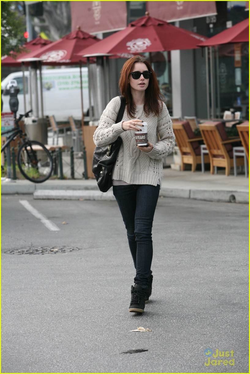 lily collins coffee bean 04