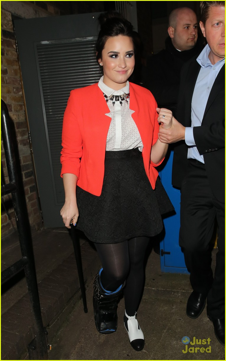 demi lovato sony brits after party 03