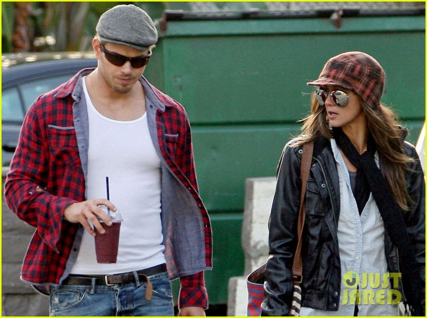 kellan lutz sharni vinson smoothie couple 09