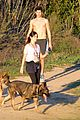 nikki reed hike hills dogs 07