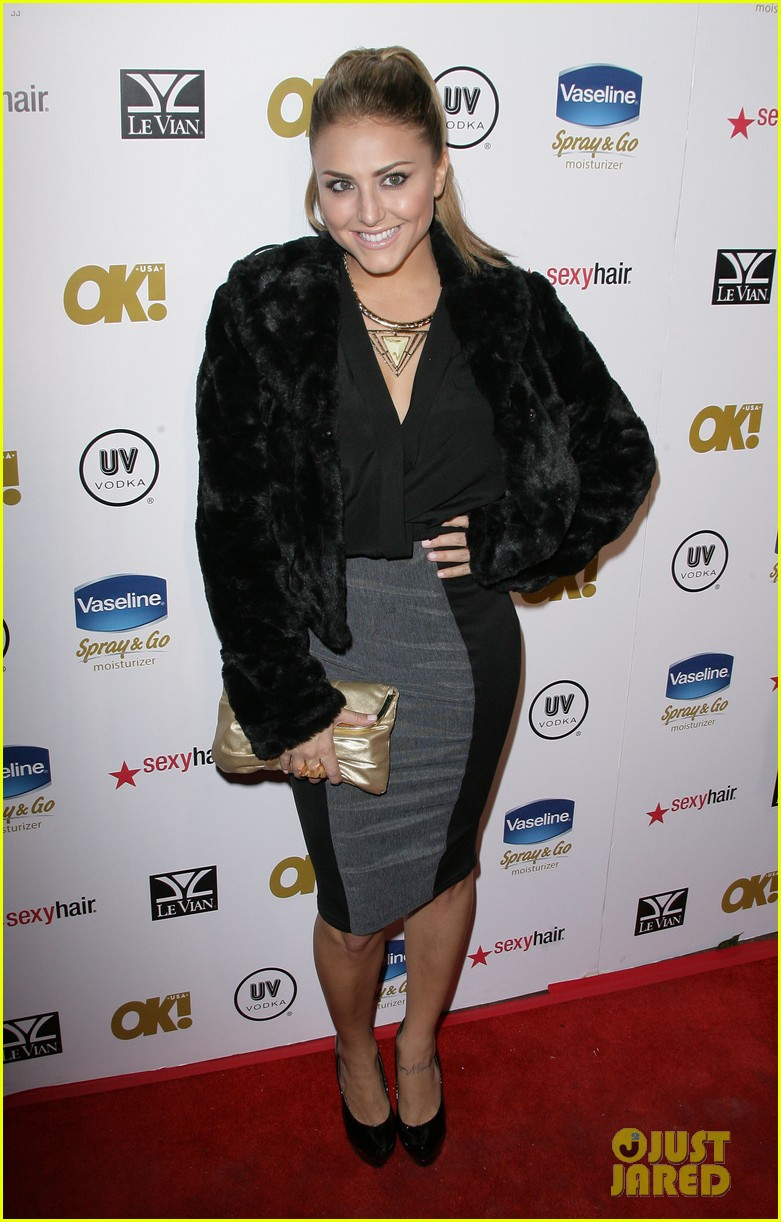 cassie scerbo ok magazine pre oscar party 07