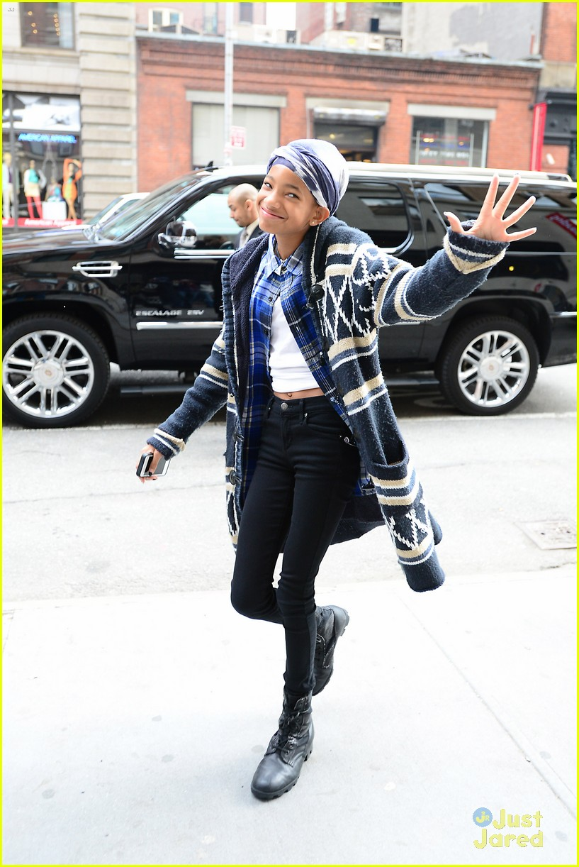 jaden willow smith nyc music video shoot 18
