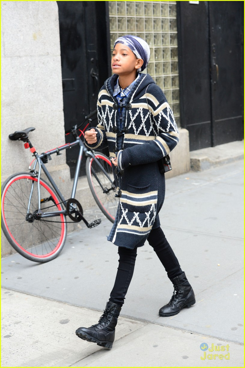 jaden willow smith nyc music video shoot 26