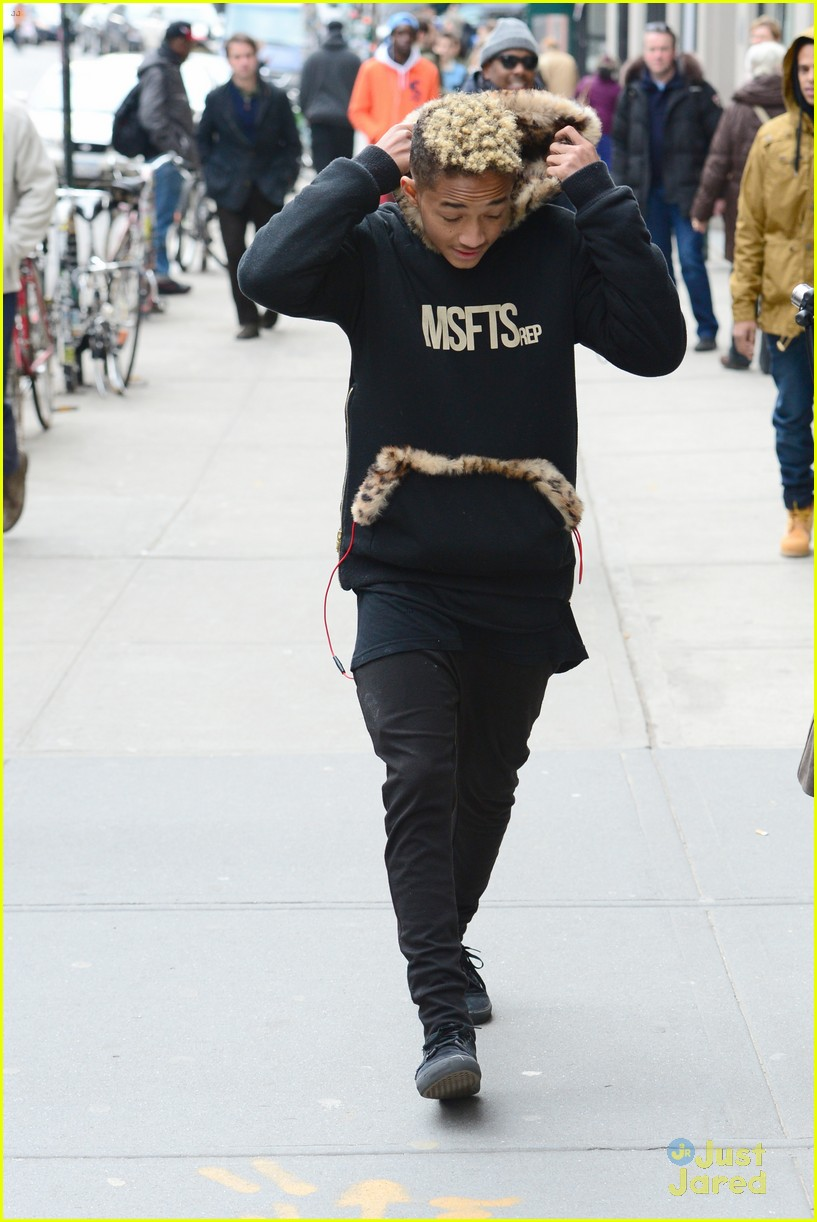 jaden willow smith nyc music video shoot 32
