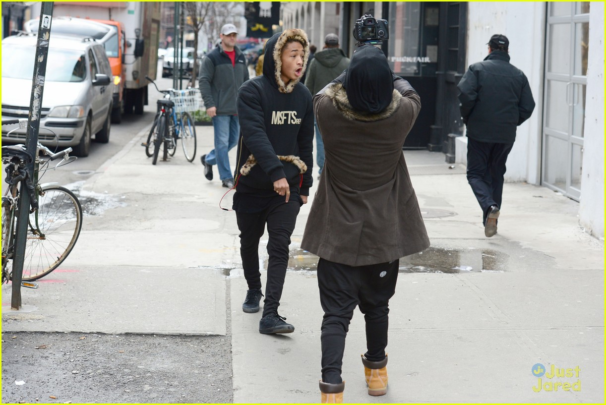 jaden willow smith nyc music video shoot 33