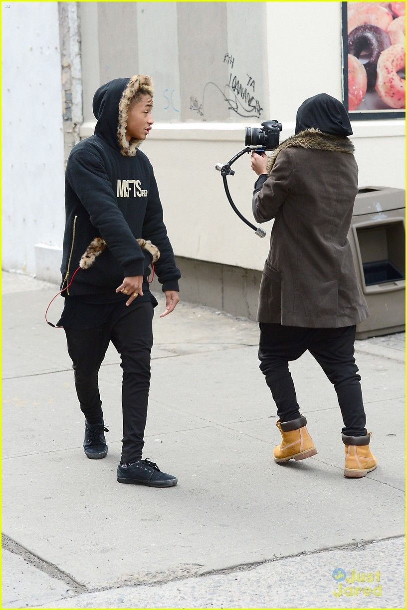 jaden willow smith nyc music video shoot 34