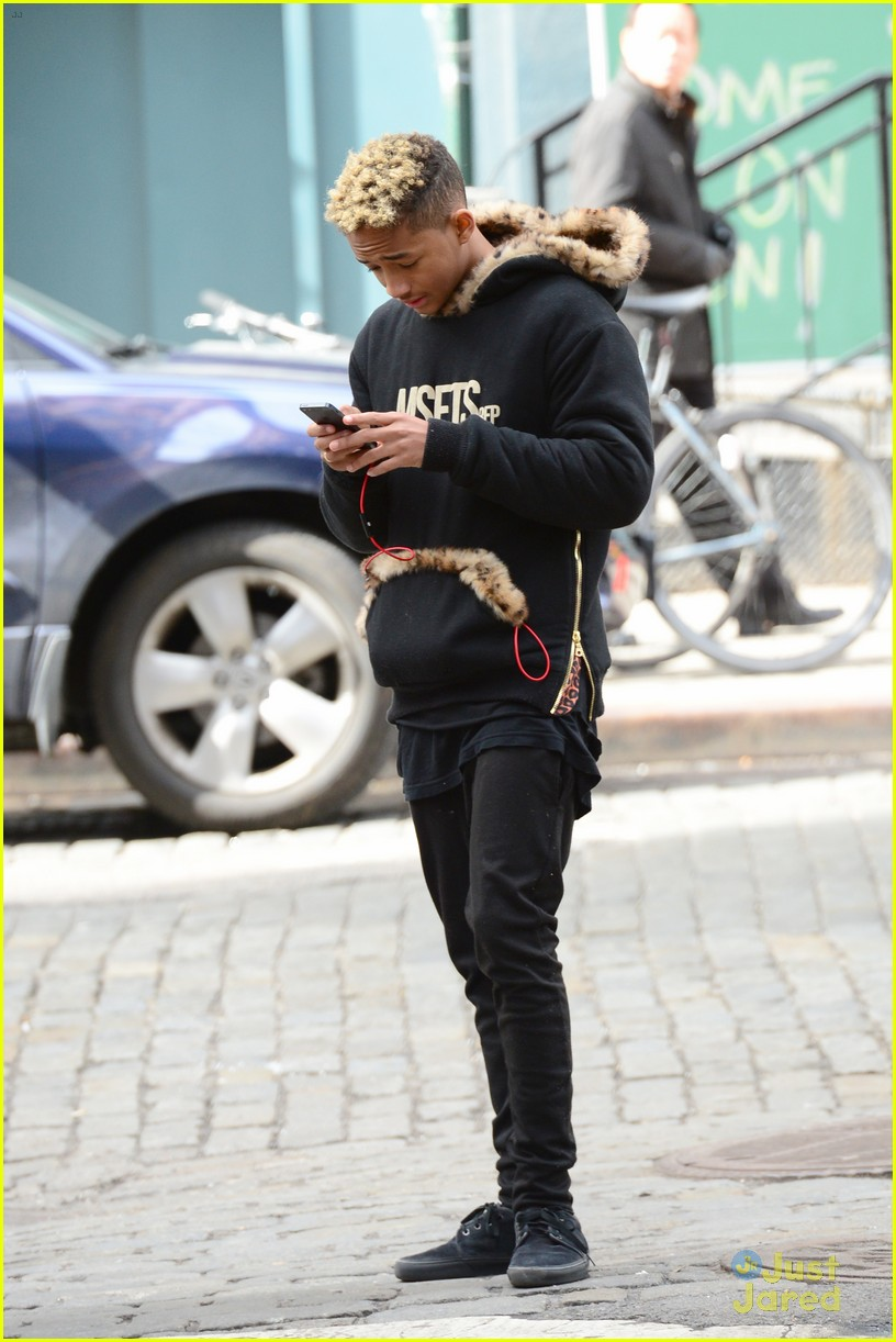 jaden willow smith nyc music video shoot 37