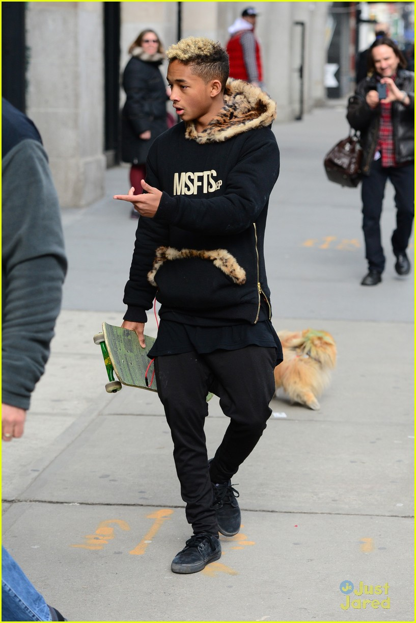 jaden willow smith nyc music video shoot 45