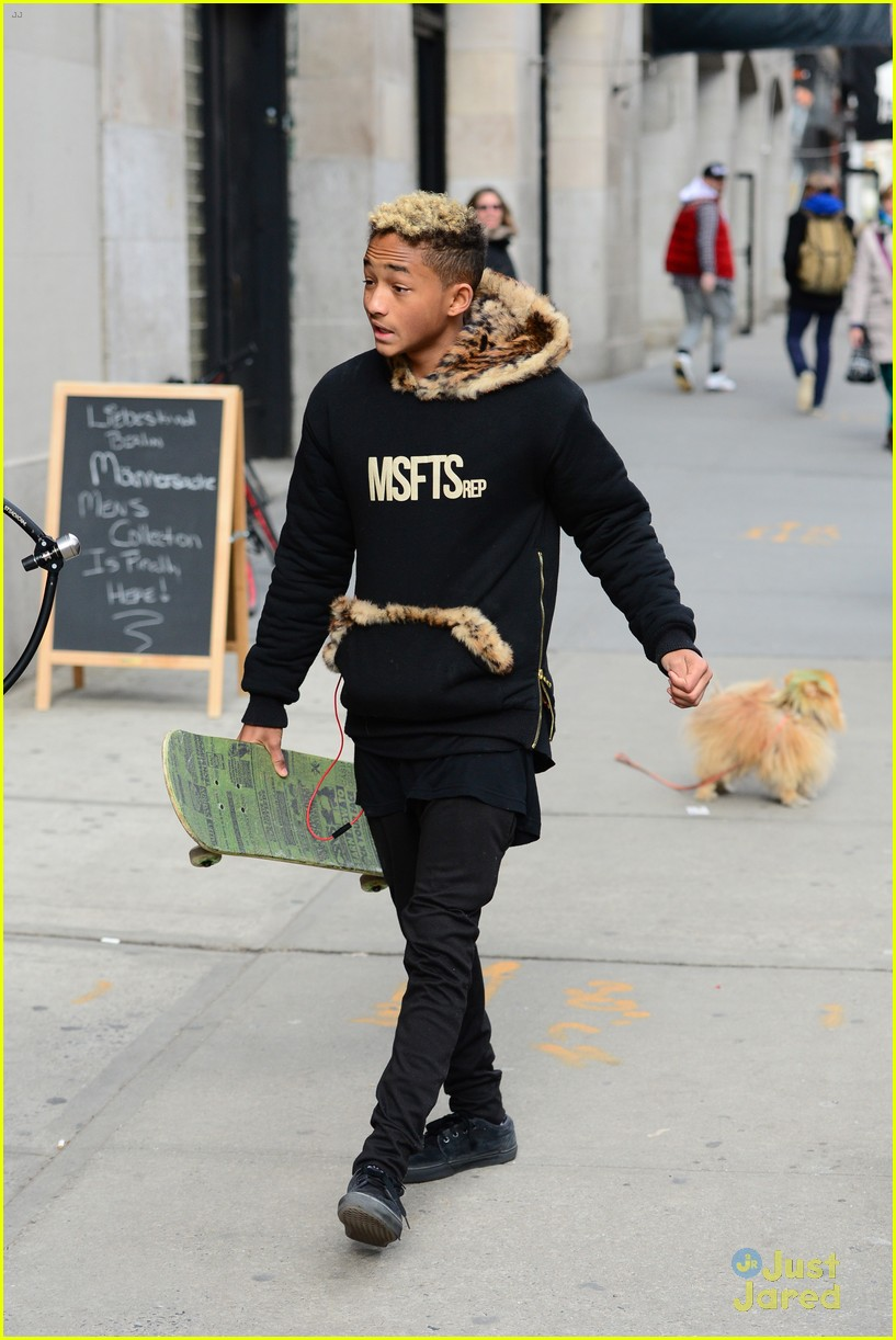 jaden willow smith nyc music video shoot 46
