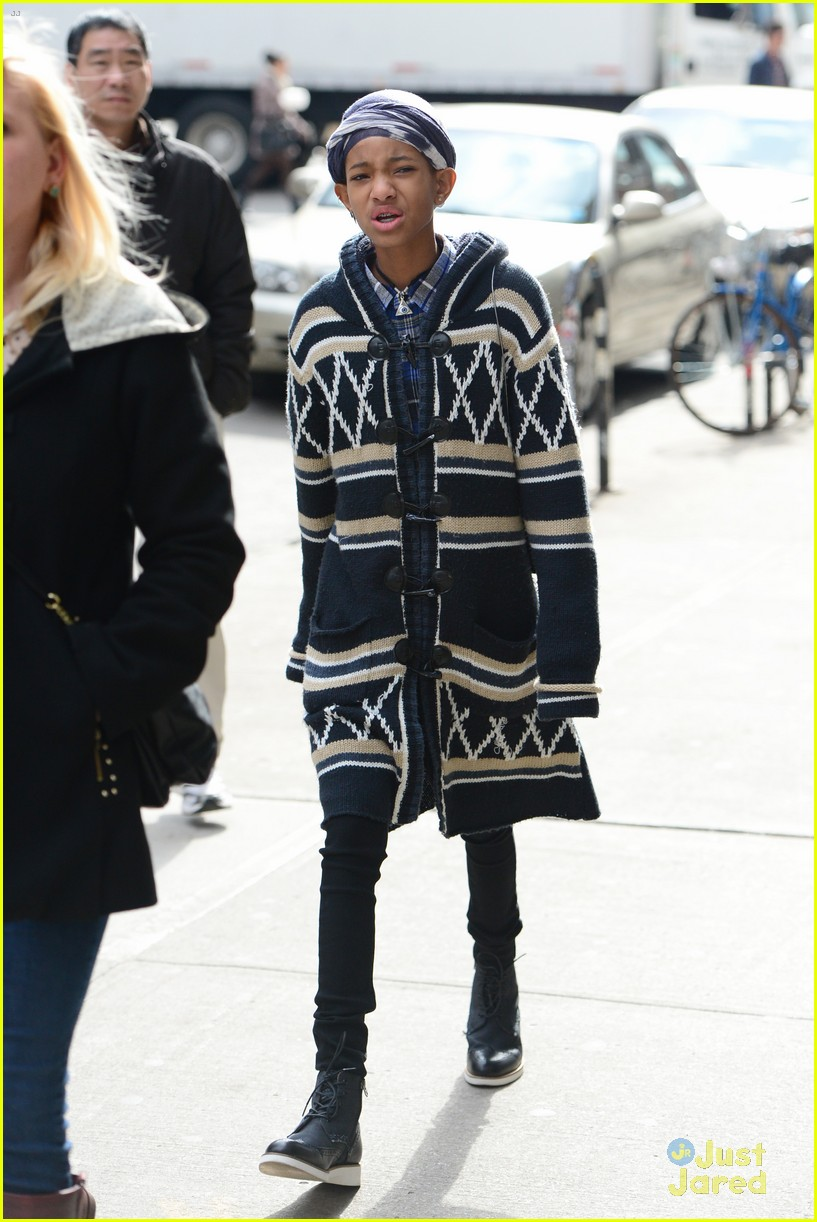 jaden willow smith nyc music video shoot 47