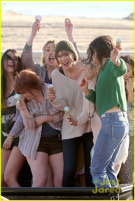 taylor swift 22 music video shoot 15