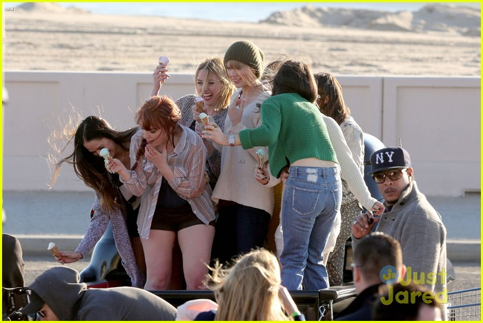 taylor swift 22 music video shoot 27
