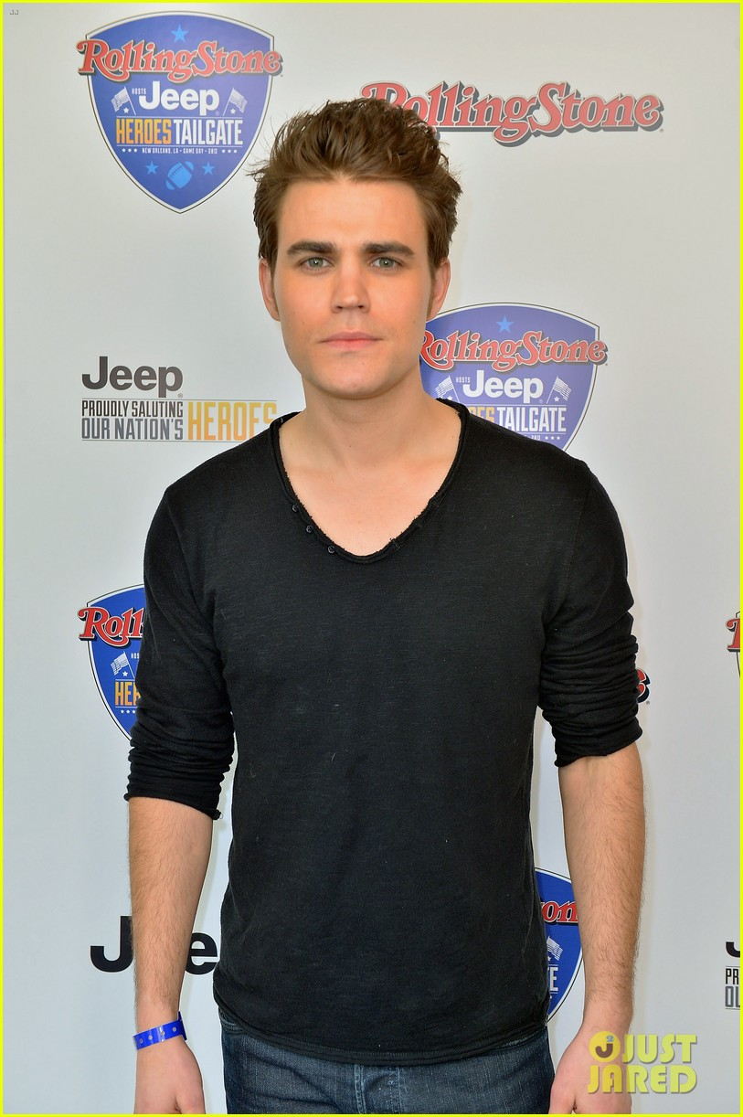 paul wesley torrey devitto tailgating party 06