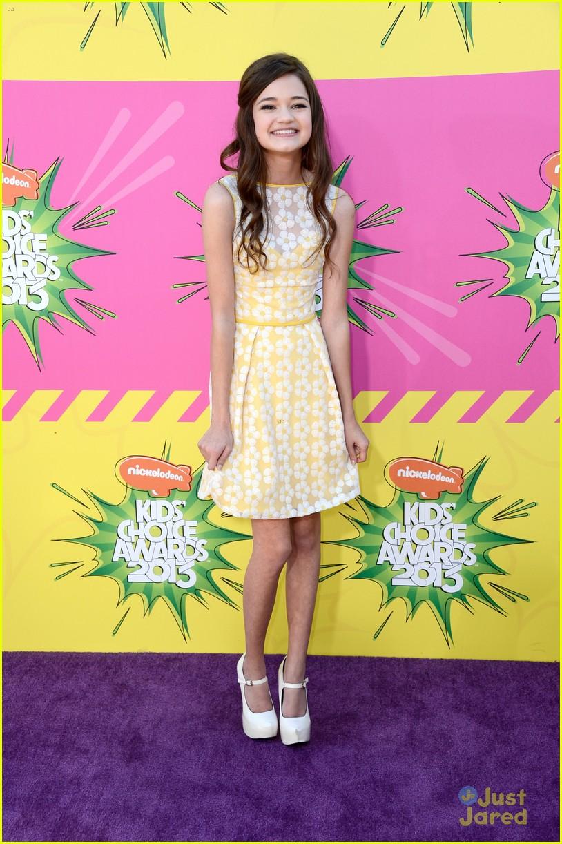 Ciara Bravo Kids Choice Awards 2013 Red Carpet Photo