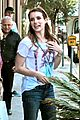 emma roberts boho braid dentist 10