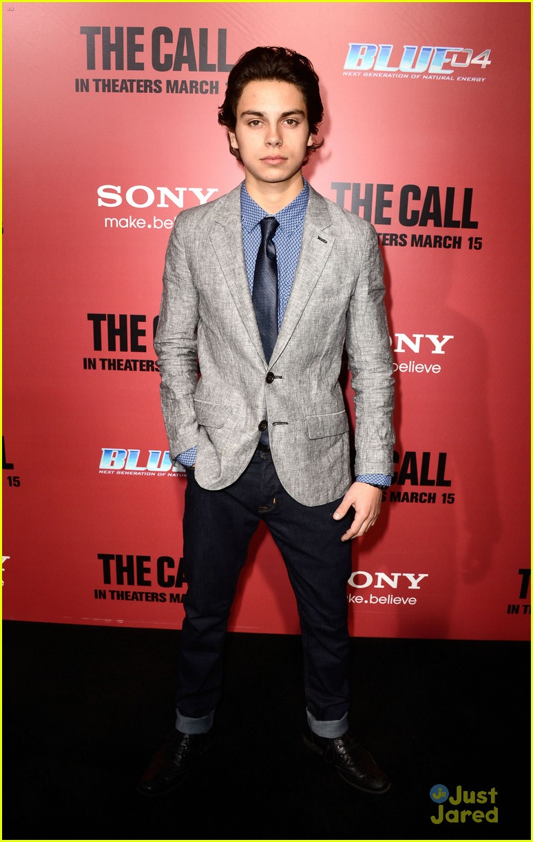 jake t austin the call red carpet premiere 03