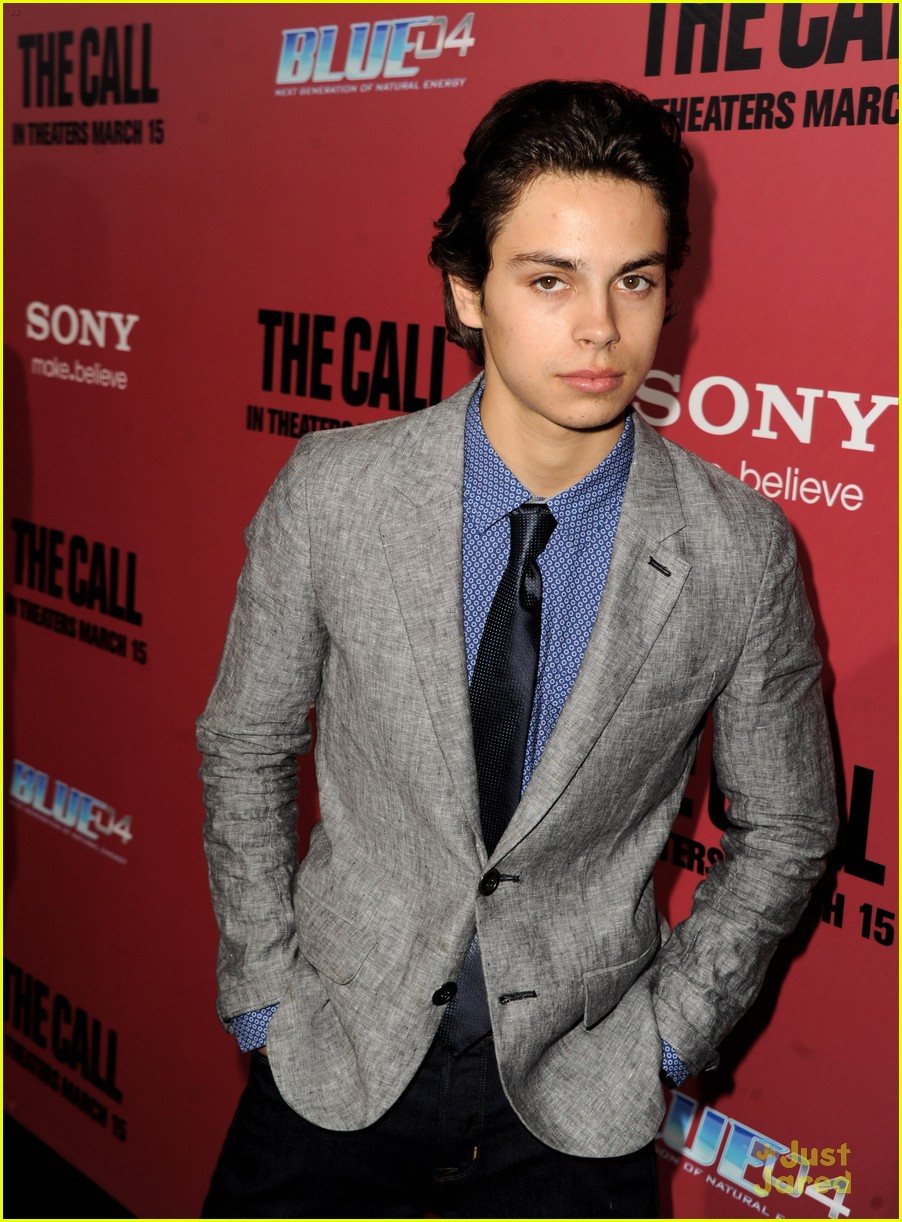 jake t austin the call red carpet premiere 13