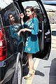 ariel winter blue dress farmers market 05