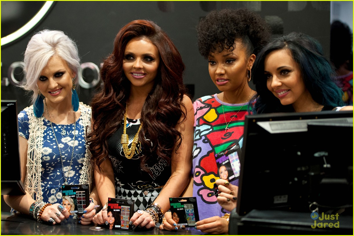 little mix nail collection launch 12