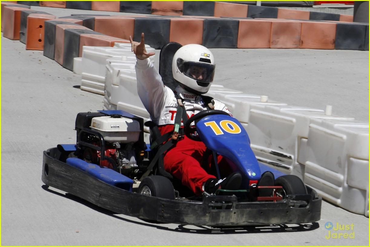 brett davern jackson rathbone toyota celebrity race 05