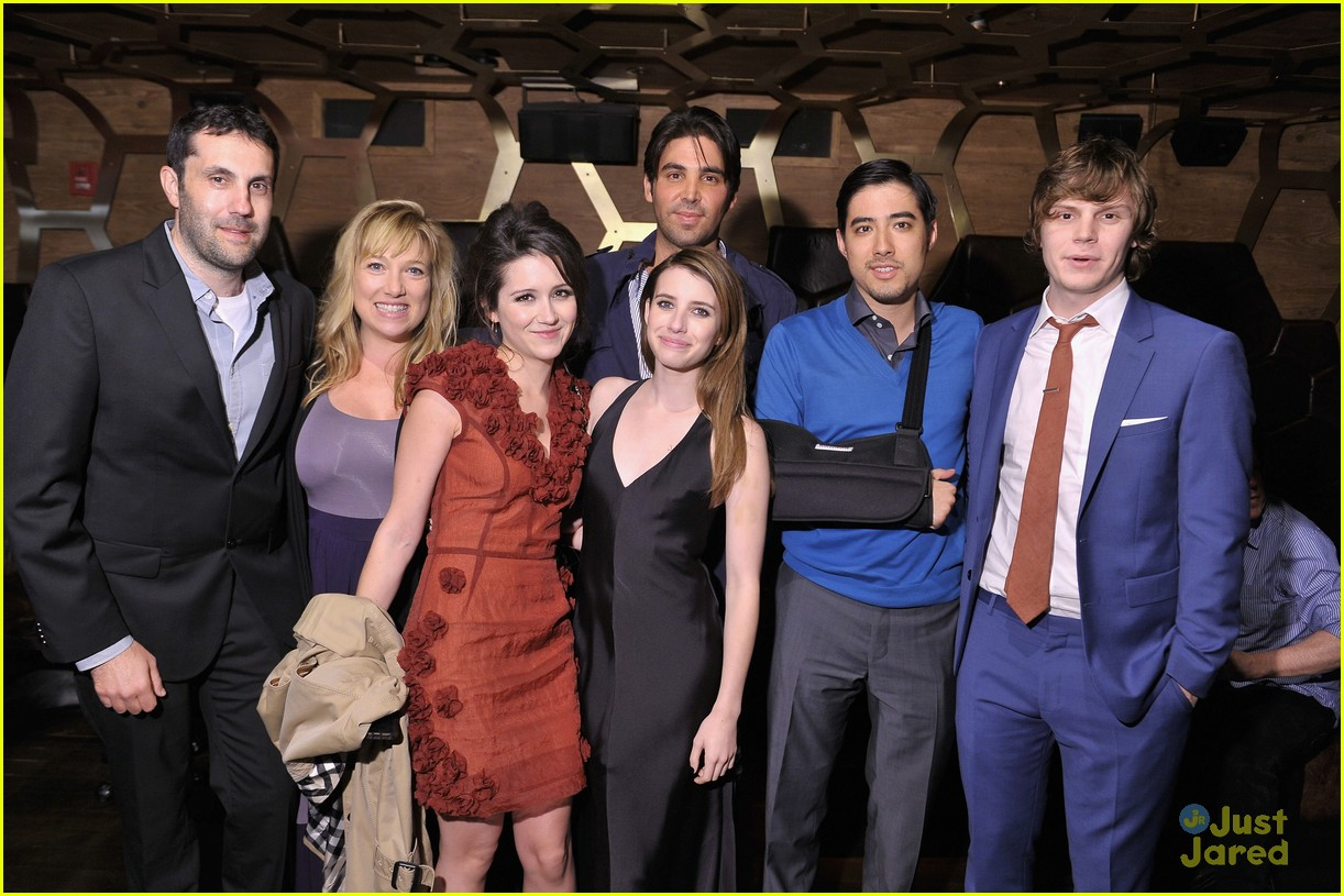 emma roberts evan peters adult world party 02