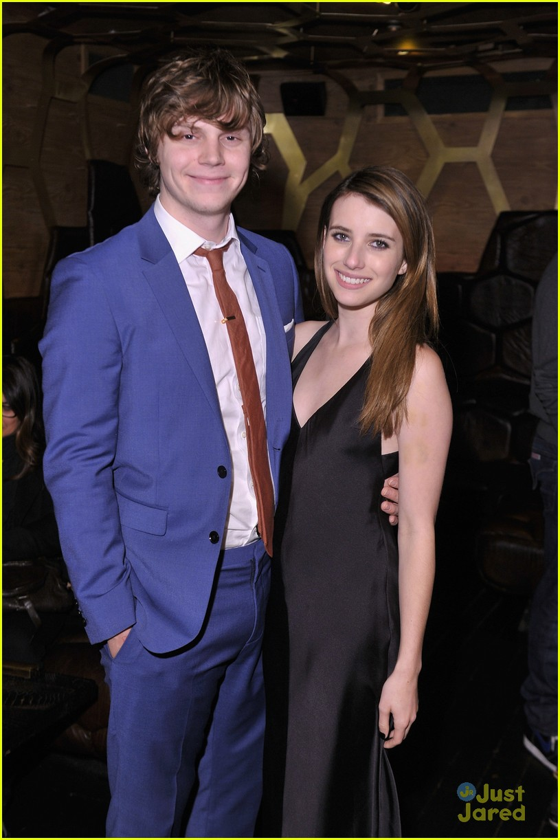 emma roberts evan peters adult world party 05