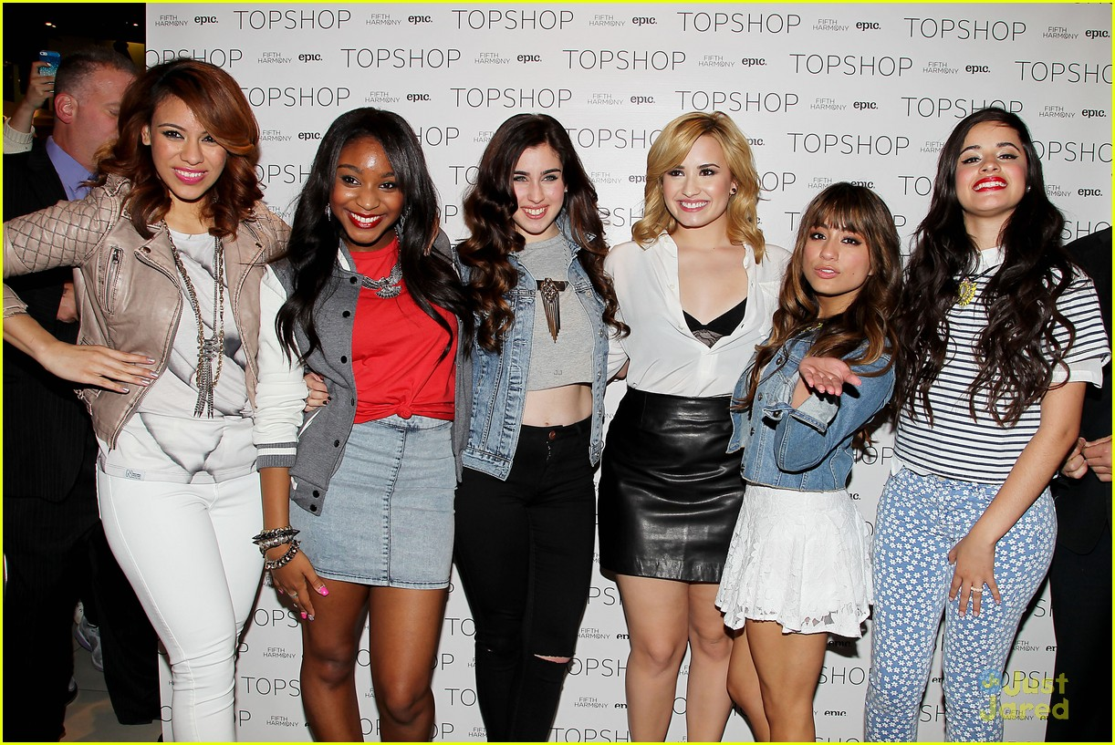 Fifth Harmony Topshop Meet Greet In Nyc Photo 560700 Photo