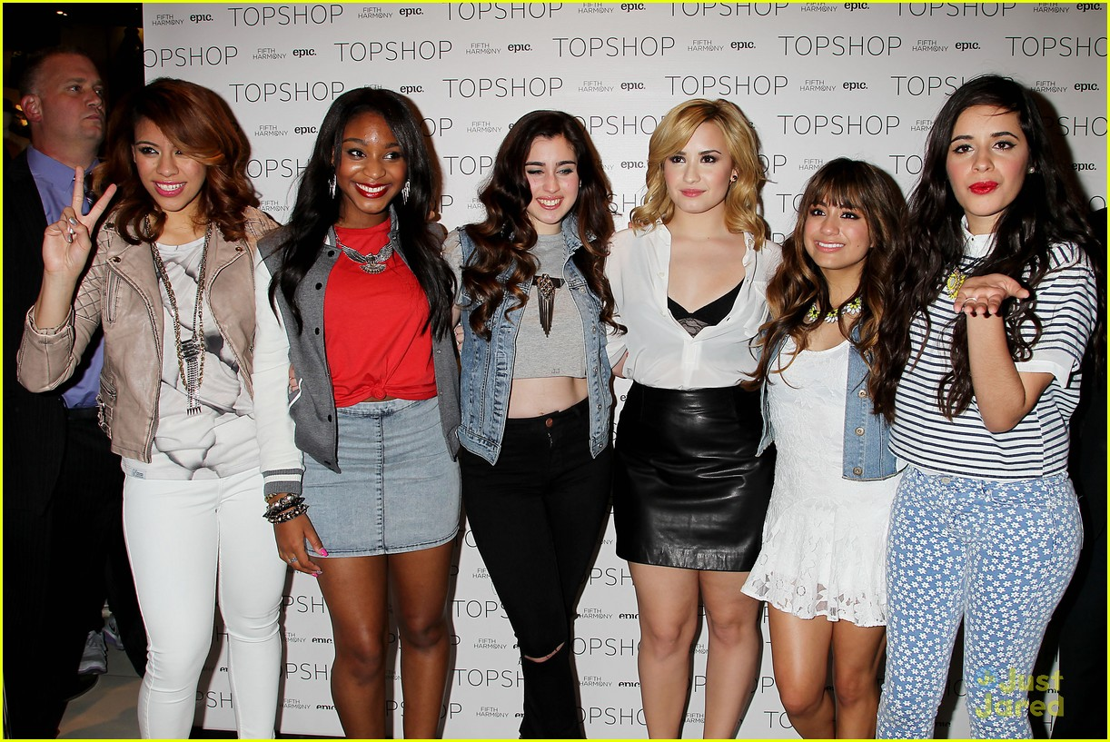 Fifth Harmony Topshop Meet Greet In Nyc Photo 560704 Photo