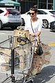 lea michele grocery shopping cory monteith steps out solo 35
