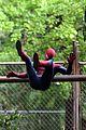 andrew garfield emma stone spider man 2 night shoot stunts 18