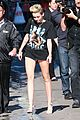 miley cyrus jimmy kimmel live arrival 2 37
