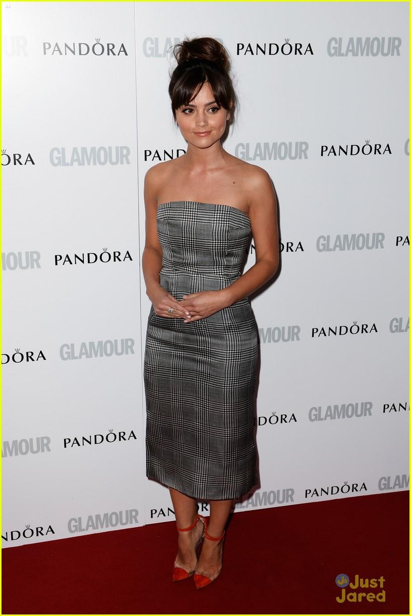 jenna louise coleman glamour women awards 01