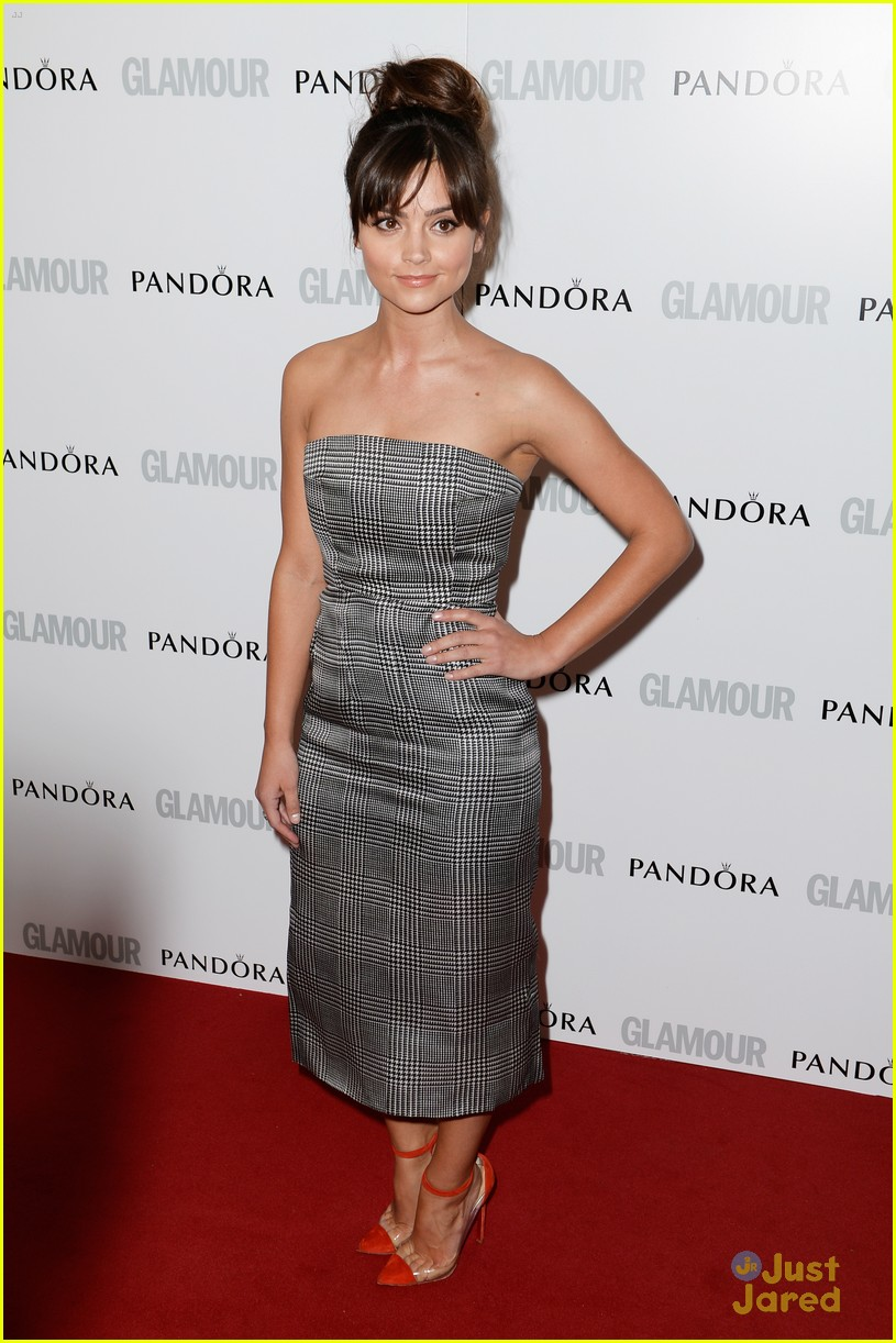 jenna louise coleman glamour women awards 03