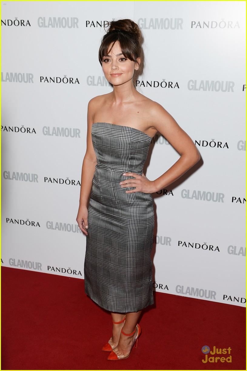 jenna louise coleman glamour women awards 07