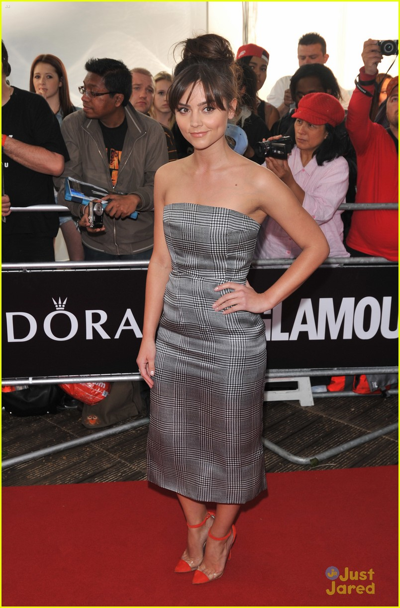 jenna louise coleman glamour women awards 10