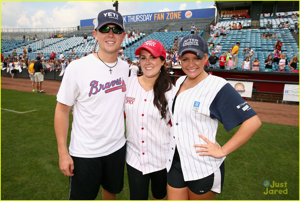 lauren alaina city hope softball game 11